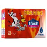 Fresh for kids papirne maramice 6 pakovanja  Cene