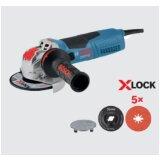 Bosch ugaona brusilica mala GWX 19-125 S + 5x X-Lock Prisma fiber diska, 125mm, 1900W 0615990M34