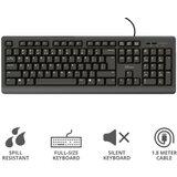Trust Primo (23880) tastatura US crna  cene