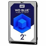 Western Digital 2.5 SATA3 5400 2TB Blue Mobile WD20SPZX, 128MB hard disk Cene