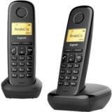 Gigaset A170-A170H duo crni fiksni telefon  Cene