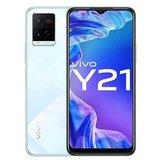 Vivo Y21 4GB 64GB bela mobilni telefon  cene