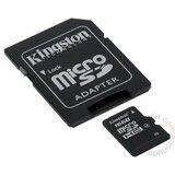 Kingston MicroSDHC 16GB class 4 + 2 adaptera SDC4/16GB-2ADP memorijska kartica Cene