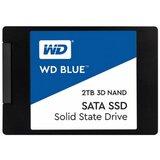 Western Digital WDS200T2B0A Blue 3D NAND 2TB SSD SATA3 2.5 560/530 MB/s ssd hard disk Cene