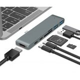 Linkom TIP C na HDMI+2xUSB3.0+SD/MICRO usb hub  Cene