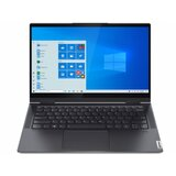 Lenovo Yoga 7 14ACN6 Win 10 Home 14 FHD Touch Ryzen 5-5600U 16GB 512GB SSD FPR backlit siva (82N7001QYA) laptop  cene