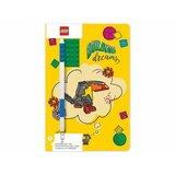 Lego dnevnik sa plavom gel olovkom 52525  Cene