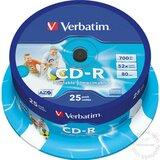 Verbatim CD-R PRINTABLE 700MB 52X 43439 disk Cene