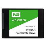 Western Digital WDS120G2G0A WD Green (2.5 120GB SATA III 6 Gb/s) ssd hard disk Cene