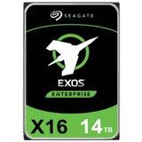 Seagate SATA3 14TB ST14000NM001G Exos X16 512e 7200rpm 256MB Cache hard disk  cene