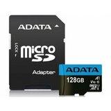 Adata UHS-I MicroSDXC 128GB class 10 + adapter AUSDX128GUICL10A1-RA1 memorijska kartica Cene
