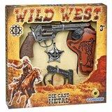 Pertini divlji zapad set oružja sa značkom i lisicama  Cene