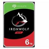 Seagate 6TB IronWolf ST6000VN001 NAS 3.5 inch SATA III 128MB 7200rpm hard disk Cene