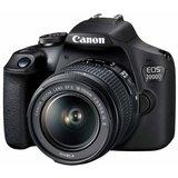 Canon EOS 2000D + 18-55mm Crni digitalni fotoaparat Cene