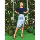 AMC suknja 055R plava