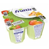 Campina Fruttis voćni jogurt jagoda, breskva, marakuja 0,2% MM 4x125g čaša  cene