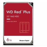 Western Digital SATA III 128MB 6TB WD60EFZX Red Plus hard disk  Cene
