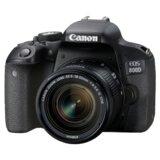 "Canon EOS 800D + 18-55mm DSLR 24.2 Mpix 3"" CMOS digitalni fotoaparat  Cene"