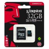 Kingston UHS-I U3 MicroSDHC 32GB V30+ Adapter SDCG2/32GB Go memorijska kartica Cene