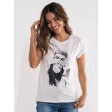 Legendww bela majica sa zenskim likom 7256-9770-02  Cene