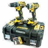 Dewalt set akumulatorskih bušilica DCK268P2T (DCD791 + DCF887 + 2 x baterija 18V/5Ah + punjač + kofer)  Cene