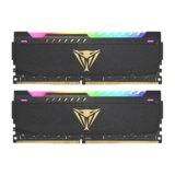 Patriot DDR4 16GB 2x8GB 3200MHZ Vipe Steel RGB BLACK Dual Channel PVSR416G320C8K ram memorija  Cene