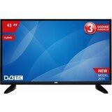 VOX 43DSA311B - 1920x1080 (Full HD), HDMI, USB, T2 tuner, Siva LED televizor Cene