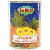 Iska ananas kolutići kompot 560g limenka  cene