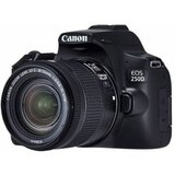 Canon EOS 250D - set sa 18-55+EF 24mm, crni digitalni fotoaparat Cene