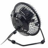 Gembird NF 03 USB 10cm desktop fan, black, metalni ventilator  Cene