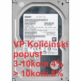 "Hitachi HDD 3.5"" 3TB  ULTRASTAR 7K4000 24/7, 7200RPM 64MB SATA3 HUS724030ALE641 hard disk Cene"