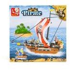 Sluban kocke Piratski ratnički brod, 226 kom A016012  Cene