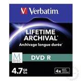 Verbatim 554M/Z DVD-R M-DISK 4.7GB/4X 3PACK 43826 SLIM CASE disk Cene