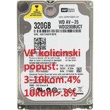 Western Digital HDD 2.5 320GB WD3200BUCT WD 5400RPM 16MB 9mm SATA  Cene