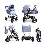 Baby Bear Origin kolica za bebe matrix - plava  Cene