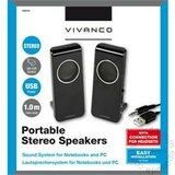 Vivanco 2.0 Portable USB Black 36644 zvučnik Cene