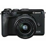 Canon EOS M6 Mark II M15-45 S + EVF RUK/SEE digitalni fotoaparat  cene