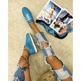 Hop Hop 16014 - kožne patike natasha - plava  Cene