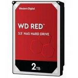 Western Digital 3.5 SATA3 5400 2TB Red WD20EFAX 256MB hard disk Cene