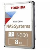 Toshiba 8TB 3.5 SATA III 7.200rpm HDWG180XZSTA N300 series hard disk  cene