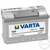 Varta silver dynamic 12V74 AH D+ akumulator Cene