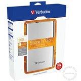 Verbatim 500GB 53021 Silver eksterni hard disk Cene