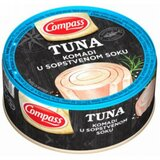 Compass tuna komadi u sopstvenom soku 160g limenka  cene
