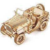 Robotime Army Field Car  cene
