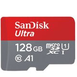 Sandisk SDXC 128GB Ultra Micro 100MB/s Class 10 sa Adapterom  cene