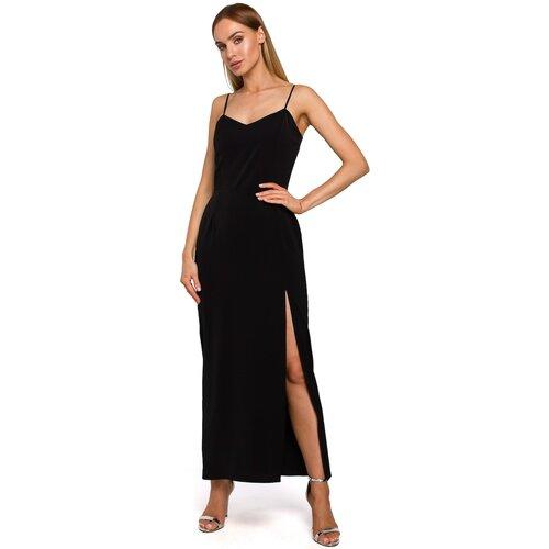 Made Of Emotion Ženska haljina M485 crna  Cene