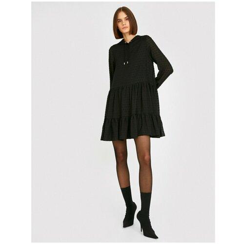Koton kratka haljina s kapuljačom i kapuljačom s dugim rukavima Koton  Cene