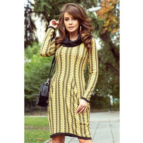 NUMOCO Ženska haljina 277-1 Med  Cene