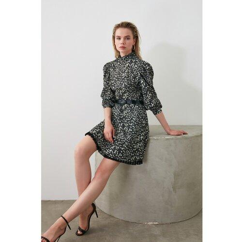 Trendyol Haljina u više boja crna | siva  Cene