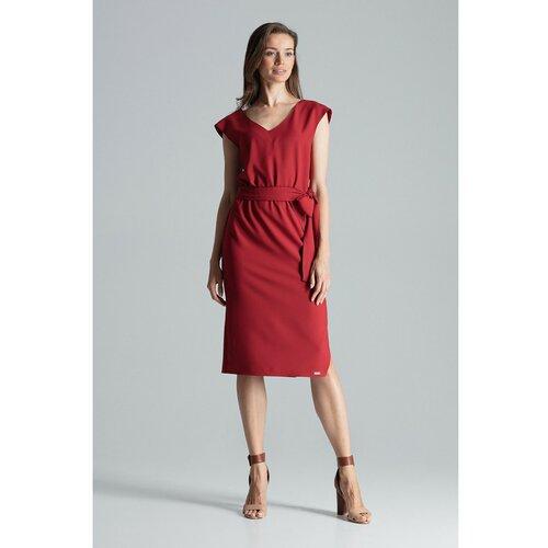 Figl Ženska haljina M674 Deep tamnocrvena  Cene